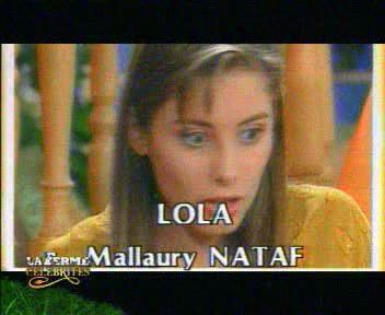 LA GENERATION AB : MALLAURY NATAF dans La ferme Célébrités 2